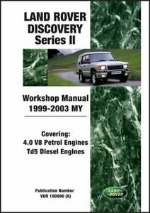 Shop-Manual-Service-Repair-Book-Workshop-Guide-Discovery-II-Land-Rover-1999-2003