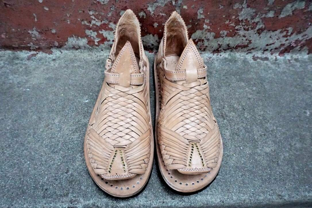 CIEN CIEN CIEN CLAVOS KLASSIC Mexikanska sandaler männens huarachéer mexicanos ACME  hetaste nya stilar