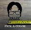 """Dwight Schrute Sticker Decal 3.5/"""" False The Office Beets Bears Battlestar XO"""