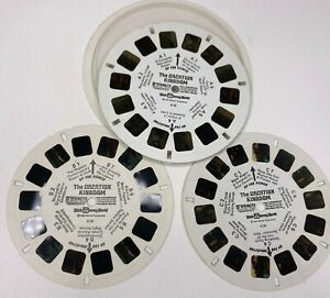 Vintage 3D ViewMaster Walt Disney World The Vacation Kingdom 3 Reel 21 Pictures