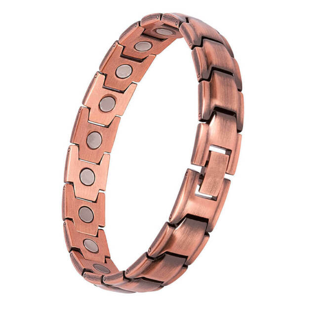 Pure Copper Magnetic anklet for women 4 elements for arthritis pain relief balance energy stress