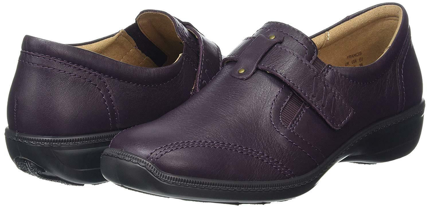 Hotter Womens Francis Low-Top Loafers Purple UK 6 EU 39 LN181 AR 05