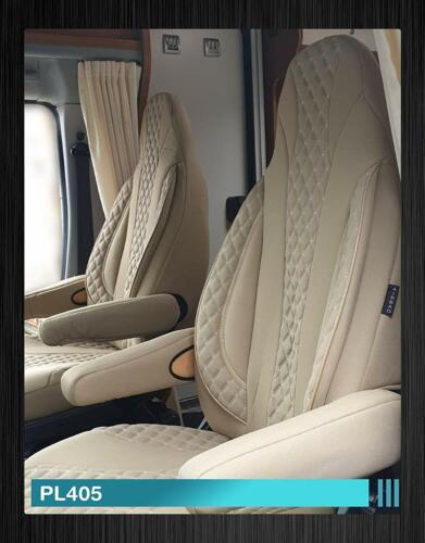 Maß Sitzbezüge Fiat Ducato 250 Fahrer /& Beifahrer ab BJ 2006 PL405