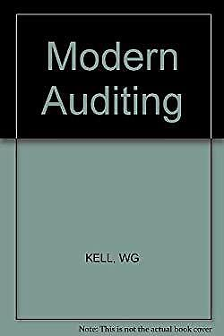 Modern Auditing by Kell, Walter Gerry-ExLibrary