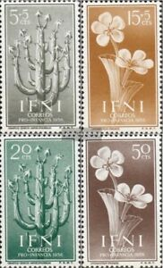 kompl.ausg. Ifni 157-160 Postfrisch 1956 Einheimische Flora Good For Energy And The Spleen