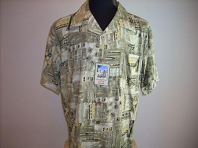 Hawaiian Shirt -  5 -  NEW - Mens Clothing