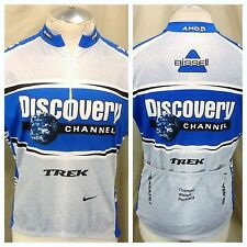 Nike Discovery Channel Trek (XL) 1/2 Zip Up Dri-Fit Cycling Jersey