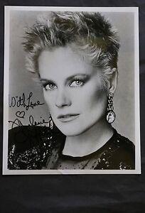Melanie Griffith Film Actress Black & White Autographed Photograph