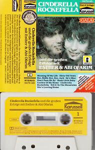 ESTHER & ABI OFARIM - Cinderell Rockefella MC Musikkassette, karussell - Süd-West-Bayern, Deutschland - ESTHER & ABI OFARIM - Cinderell Rockefella MC Musikkassette, karussell - Süd-West-Bayern, Deutschland