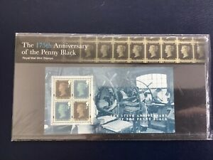 ROYAL-MAIL-PRESENTATION-PACK-2015-THE-ANNIVERSARY-OF-THE-PENNY-BLACK-NO-510-MNH
