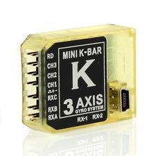 3 Axis Mini Gyro V2 5.3.4PRO K 8 Mini Bar Flybarless System for T-REX 450-700 IP
