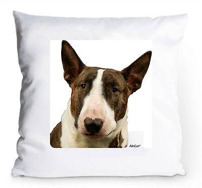 GemäßIgt Kissenbezug Mit Bild Bullterrier Hülle Hund Deko Kissen