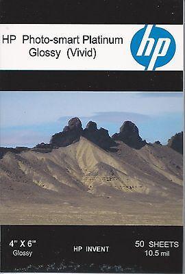 HP Photo-smart Matte Vivid~~4 x 6 Photo Paper~300ct~10 mil