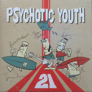 PSYCHOTIC-YOUTH-21-RED-WEST-RECORDS-VINYLE-NEUF-NEW-VINYL-LP
