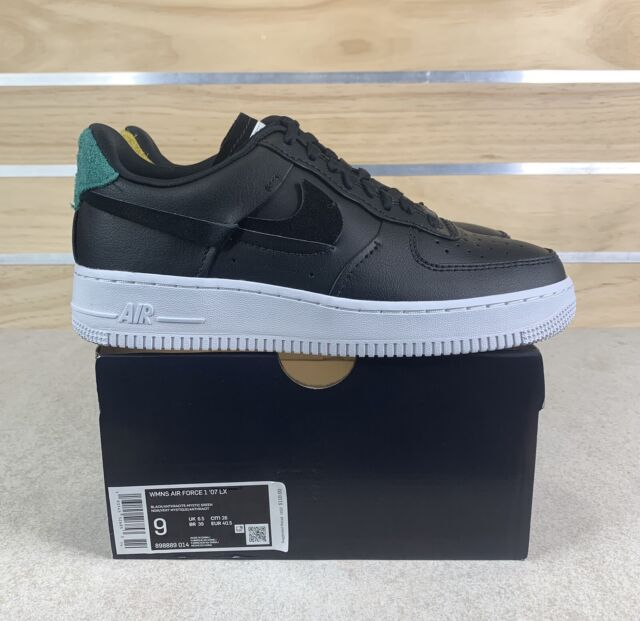 Nike Air Force 1 Low 07 LX Inside out Black Womens Af1 Shoes Size 9