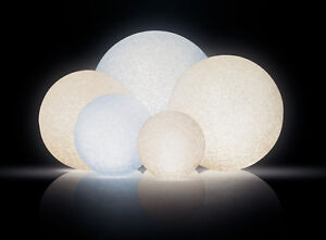 led leuchtkugel kugel lampe weiss warmweiss farbwechsel inkl batterie ebay. Black Bedroom Furniture Sets. Home Design Ideas