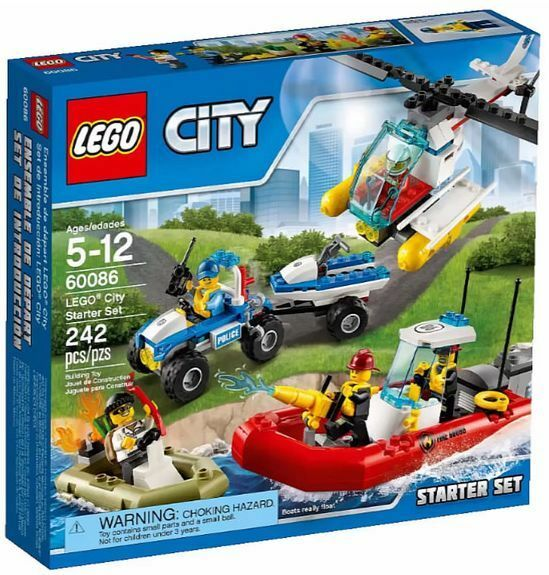 LEGO City_60086_Starter Set_242 pcs/pzs_Brand New Sealed Set