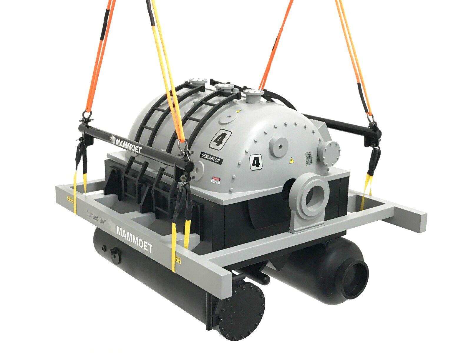 Weiss Bredhers WBR009 Mammoet Generator Set w Lifting Kit - New Release 1 50 MIB