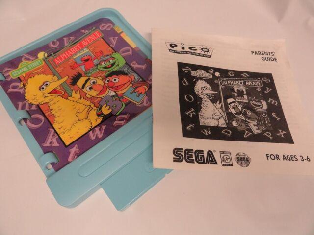 Sesame Street: Alphabet Avenue (Sega Pico, 1995)