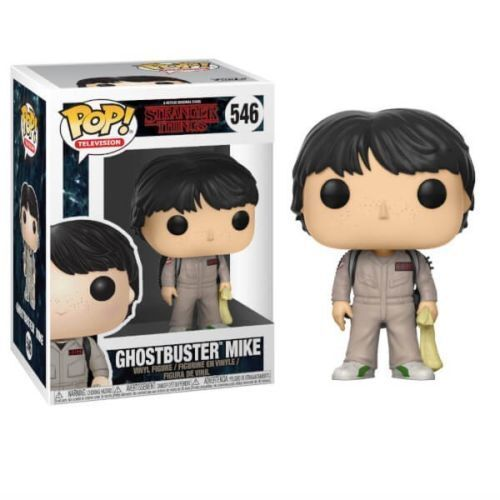 Funko POP Ghostbuster MIke 546 Stranger Things SUBITO DISPONIBILE!