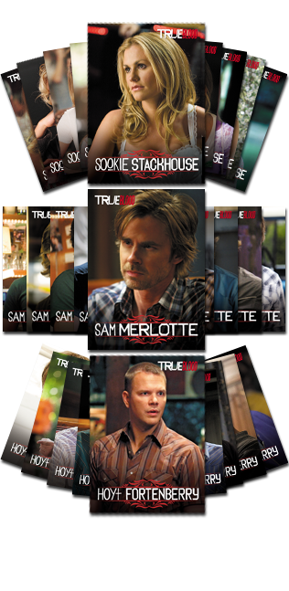 Other Trading Card Games--True Blood - Legends 27 Card Set Series 1