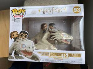Harry-Potter-Hermione-Ron-on-Gringott-039-s-Dragon-Funko-Pop-Vinyl-New-in-Box