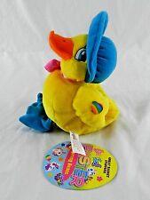 Vintage 1998 Lisa Frank Stuffins Easter Yellow Duck Plush Bean Bag Bonnie NWT