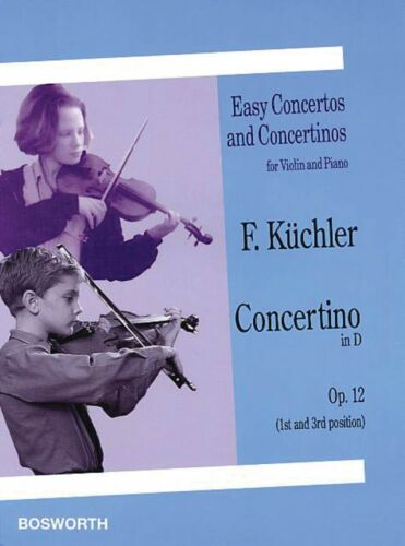 Concertino in D Op 12 1st and 3rd position Easy Concertos and Concert 014018225