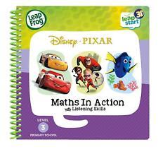 Leapstart Reception: Disney Pixar Maths in Action Activity Book 3D *NEW*