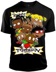 Melanin Rugrats Black T Shirt Tee