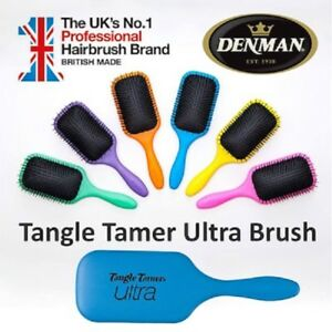 Denman-Tangle-Tamer-ULTRA-D90L-Hair-Brush-Paddle-Detangling-Wet-or-Dry-LARGE