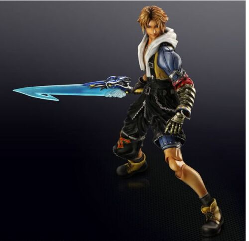 Final Fantasy XFF 10 Tidus TIda UPSCALE Anime Cosplay Costume Cartoon Characters