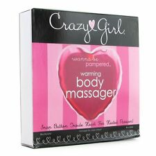 "Crazy Girl Wanna Be Pampered 5"" Heart Heating Warming Massager Body Massage"