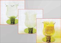 Glasaufsatz für Kerzenleuchter Kerzenständer Teelichthalter Windlicht Partylite
