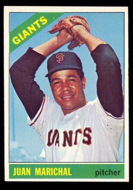 1966 Topps Juan Marichal 420 Baseball Card