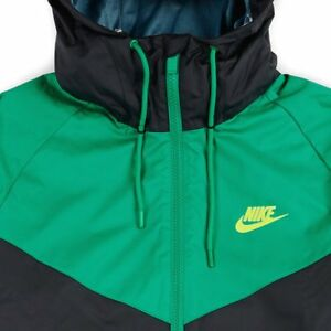 La foto se está cargando Nike -Sportswear-Nsw-Brisaveloz-Chaqueta-electrolime-EE-UU- 26a92c4e8b8e1