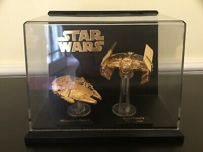 Star Wars 30th Han Solo Gold /& Silver Coin Lot Smuggler Millennium Falcon Pilot