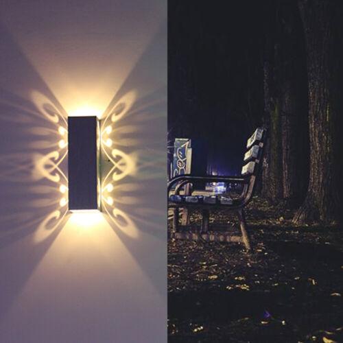 2W Wandlampe Außenlampe Wandleuchte LED Beleuchtung Lampen Garten Neu