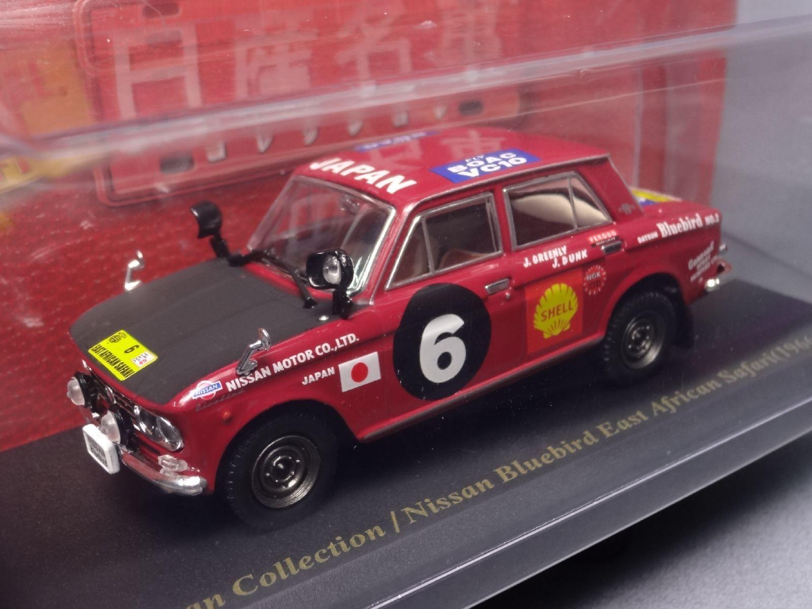 in linea Nissan blubird Safari 1966 1 43 Scale Scale Scale scatola Mini auto Display Diecast Vol 61  il più alla moda