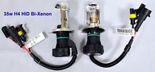 35W H4 6000K High Low Beam HID Bi-Xenon H4-3 Hi-Lo Replacement Bulbs white Blue