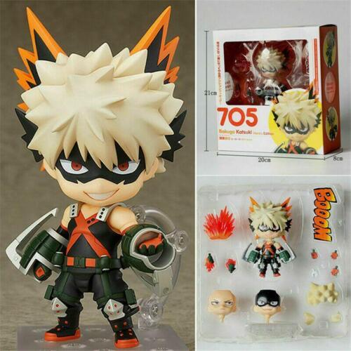 My Hero Academia Katsuki Bakugou Figure Nendoroid #705 Collection Model Toy Gift