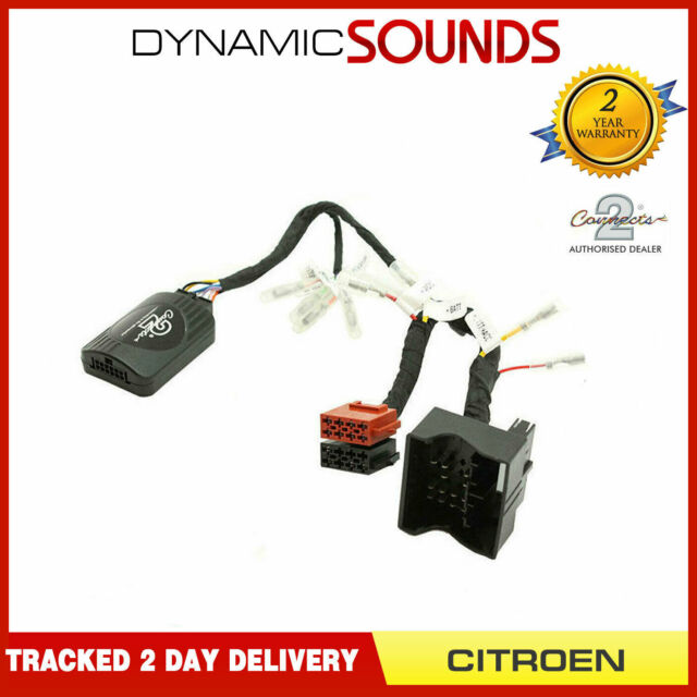 C4 DS-CT003 interfaz De Volante Cable Adaptador Para CITROEN C2 C3 C5 MKII,