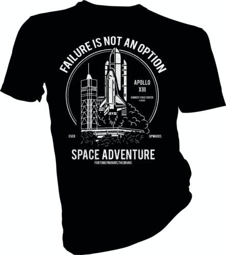 NASA Space Shuttle Failure Is Not An Option Rocket Adult /& Kids T-Shirt