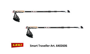 official photos 3aa24 ed648 Details about Leki Smart Traveller Carbon 6402606 - Nordic Walking Poles  with Smart Tip 2.0