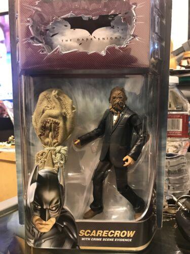 DC Comics Batman Dark Knight Scarecrow crime scene Evidence