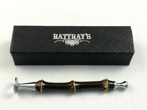 Rattray/'s Bambus dunkel Bamboo Stopfer Pfeifen Besteck Extra langer Dorn Pfeife