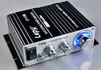 700W 12V Mini Hi-Fi Stereo Digital Amplifier mp3 iPod home & Power & Audio Cable