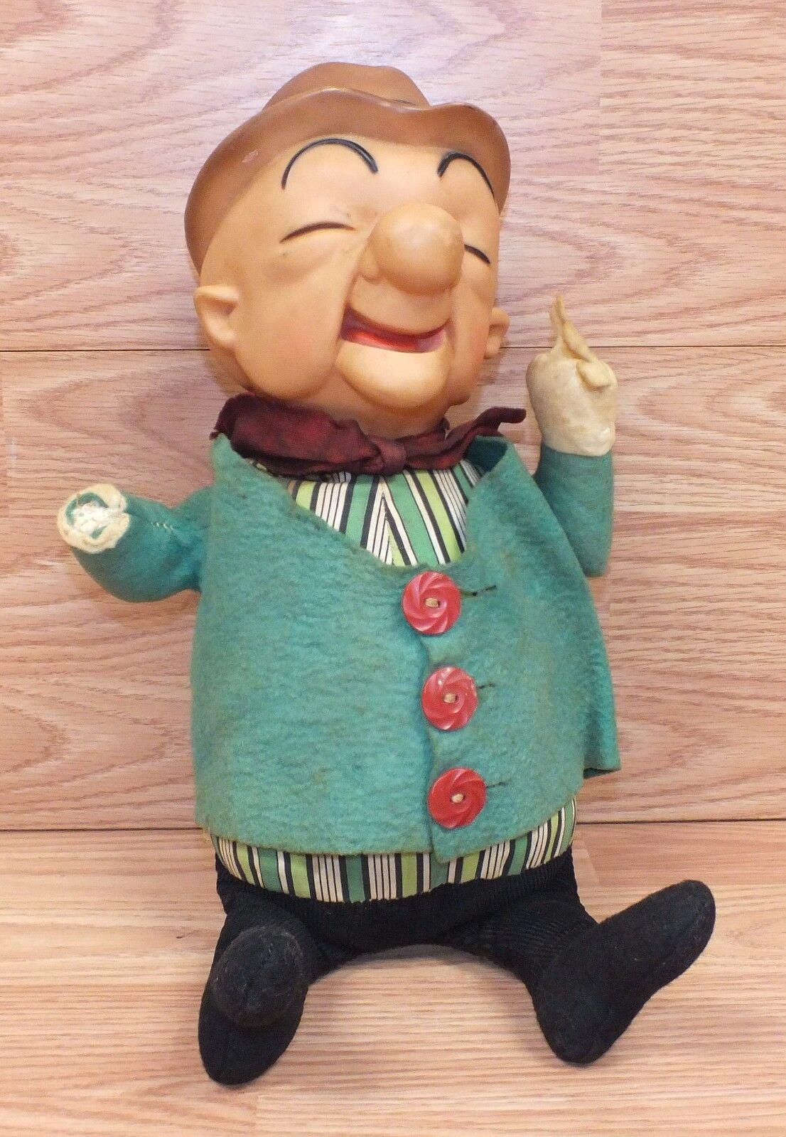 Vintage Genuino Ideal Juguetes 1962 Mr.Magoo Peluche Muñeca Solo - Hecho en EEUU