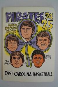 Vintage-Basketball-Media-Press-Guide-East-Carolina-University-1974-1975