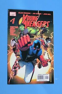 YOUNG-AVENGERS-1-1ST-APPEARANCE-KATE-BISHOP-NM-NEAR-MINT-2005